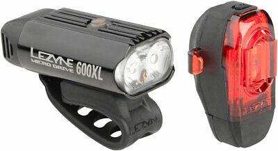 REAR Bike Light 90cm USB Black Charger Power Cable for Lezyne MICRO DRIVE 180