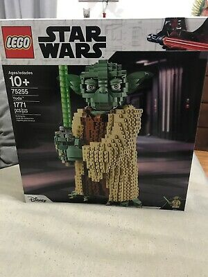 LEGO Star Wars Yoda 75255 1771 pieces Factory sealed - NEW