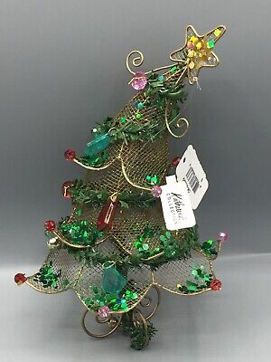 Katherine/'s Collection Deco Jeweled Christmas Garland 6Ft Red Green 838136