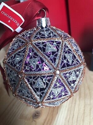 Waterford Times Square New Year's Eve Replica Ball Christmas Ornament  2016