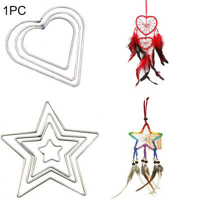 50/80/100/120/150/200mm Welded Metal Dream Catcher Macrame Craft Hoop DIY Supply