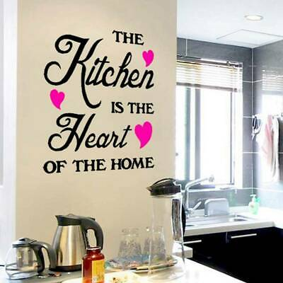 Removable Quote Word Decals Vinyl DIY Home Room Decor Art Wall Stickers Cxz