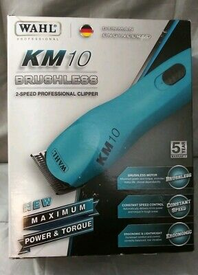 WAHL KM10 Brushless 2 Speed Professional Clipper - NEW Model 9791