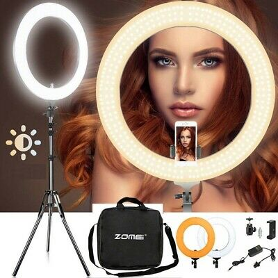 18 Inch LED Ring Light With Stand & Phone Holder Make-up for Camera iPhone Phone