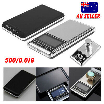 500g 0.01g Pocket Electronic Digital Scales Weight Gold Jewellery Mini Scale OZ