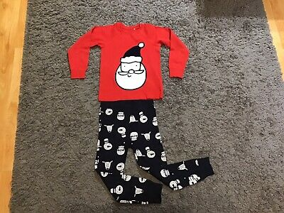 Next Girls Christmas Pyjamas Age 5-6.