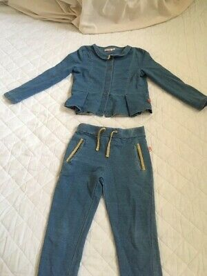 Girls 'Billy Blush' trouser and jacket set age 4-5 (fitted my daughter age 6)
