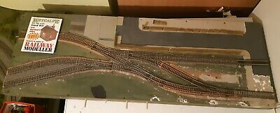 OO Gauge  Model Railway Shunting puzzle Micro Layout