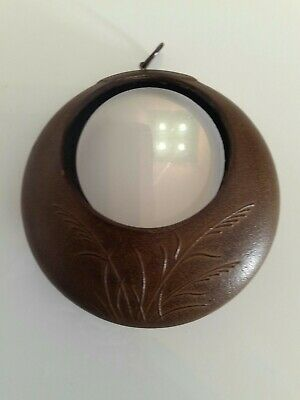 Vintage Japanese cast iron Ikebana moon vase tsuri tsuki Excellent condition