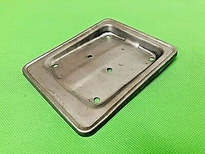 Vespa Small Frame Metal Pressed Number Plate Holder Fits 50 / N / L / R / Ss