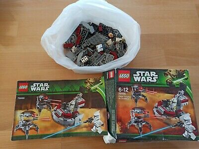 LEGO Star Wars Clone Troopers vs. Droidekas (75000)