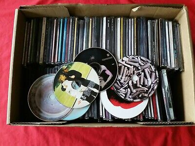 CD COLLECTION - JOB LOT over 100 CDs mainly singles loft find
