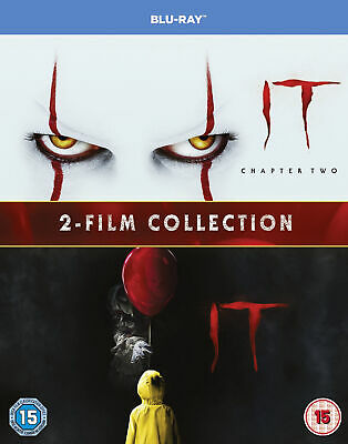IT Chapter One & Two 1&2 (Limited Edition Blu-ray) James McAvoy