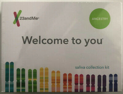 New 23andMe Ancestry Saliva Collection Kit