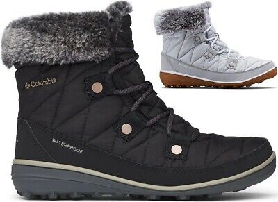 COLUMBIA Heavenly Shorty Waterproof Insulated Warm Winter Shoes Boots Womens New