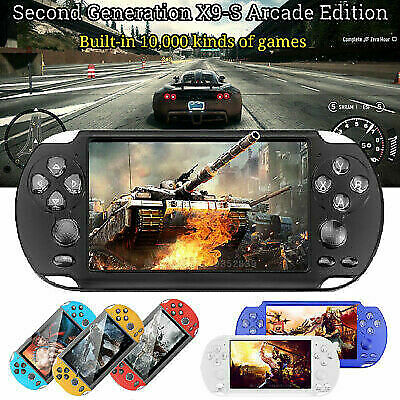 8GB Handheld X9-S PSP Game Consoles Player Builtin 10000 Games 5.1'' Portable UK