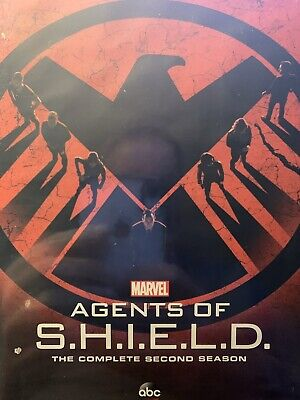 Marvel's Agents of SHIELD - Second Season 2 [DVD] New Sealed