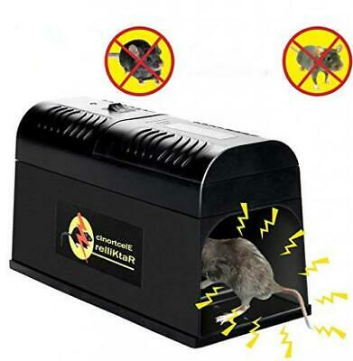 Ansitai Electric Mouse Traps,Rodent Trap Electronic Killer -Electronic...
