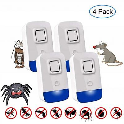 ROOTOK Ultrasonic Insect Pest Repellent, Electronic Repeller Plug in, 4...