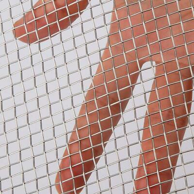 AIEX 304 Stainless Steel Woven Wire 5 Mesh for Air Ventilation Protecting...