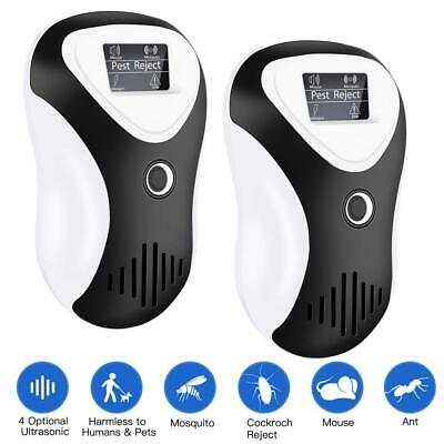 FYLINA Ultrasonic Pest Repeller, Plug-in Control with 4-in-1 Frequency...
