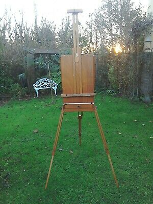 Vintage French portable artists easel