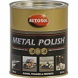 AUTOSOL SOLVOL CHROME & METAL CLEANER & POLISH 750ml TIN- THE ORIGINAL & BEST
