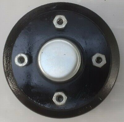 "Peak Dynamics 160mm x 35mm Trailer Brake Drum 4 stud x 4"" PCD"