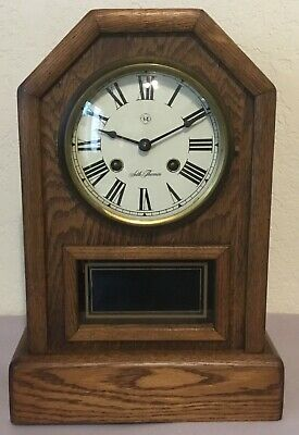 Seth Thomas Country Cottage Model 1209-000 Wooden Mantel Clock