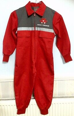 Massey Ferguson Overalls Boiler Suit Toddler Children's Age 2-3