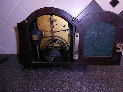 smiths enfield bakelite vintage mantel clock spares or repair