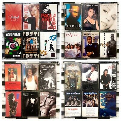 You Pick Cassette Lot 80's 90's - Prince, Madonna, Mariah Carey + More! FREE S&H