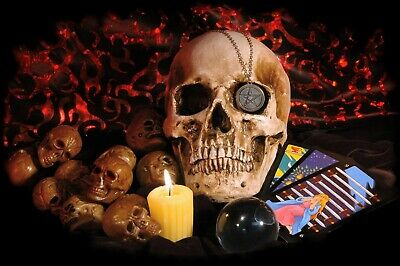 Powerful Intuition Ritual Spell Cast 100% Authentic Santa Muerte Candle Magick
