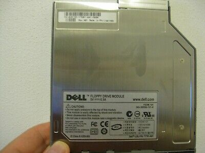 Dell OEM Floppy Drive Module FDDM-101 7T761-A01 PN 02R152 for Latitude 600 800
