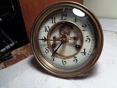 Antique-Waterbury-Open Escapement-Clock Movement-Ca.1900-To Restore-#K108Y