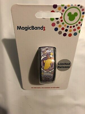 Disney Parks 2019 Figment Light Purple Dragon Limited Release MagicBand 2 Epcot