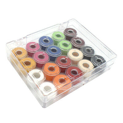 Gift Sewing With Threads Accessories Practical Colorful Travel Bobbin Set
