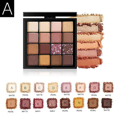 Nude Shimmer Shining Mineral Kit Powder Palette Eye Shadow Beauty Makeup