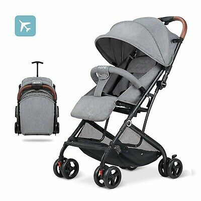 Baby Stroller Lightweight Compact Travel Strollers Boys Girls Airplane Ready