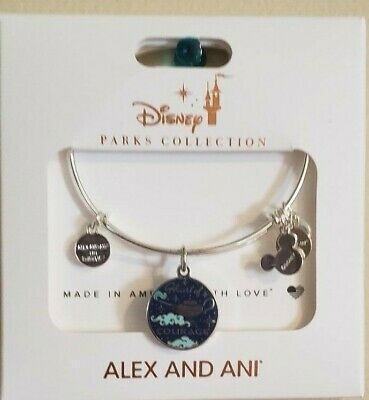 Disney Alex & And Ani Aladdin Jasmine Rajah Heart Of Courage Silver Bracelet