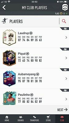 FIFA 20 ULTIMATE TEAM ACCOUNT 2Mil+ worth of players PS4 RELIST (Mbappe,icon,etc