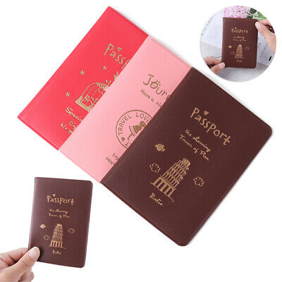 Waterproof Passport Holder Bag Protector Passport Cover Travel Cover Case