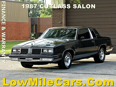 1987 Oldsmobile Cutlass Salon 1987 Oldsmobile Cutlass Salon coupe 5.0L V8 nice newer muscle car B&M Edelbrock
