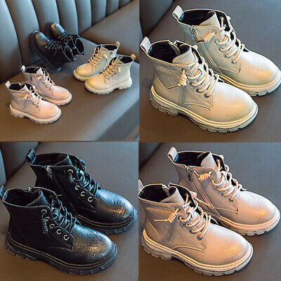 Kids Ankle Boot Faux Leather Girl Children Casual Wedding Outdoor Classic Chelse