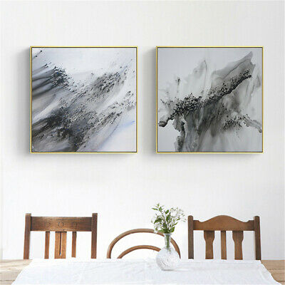 Abstract Chinese Ink Painting Picture Art Canvas Print Wall Poster Home Decor