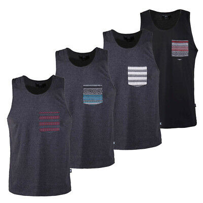 Beautiful Giant Men's Solid Sleeveless Active Pocket Gym T-shirt Tank Top