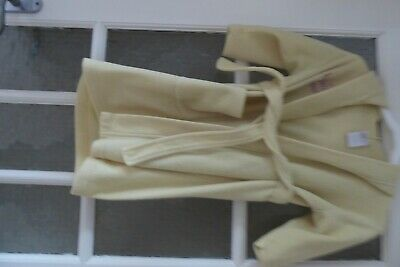 Girls Dressing Gown - Yellow - Age 5-6 years