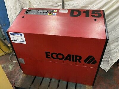 Ecoair Screw Type Air Compressor Model D15