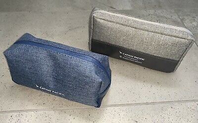 2x Cathay Pacific Business Class Amenity Kits ~ Brand New/Unused ~ EXPRESS POST