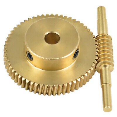 1X(Modular Gear 60 Perforation 5Mm Shaft Worm Gear Large Reduction Ratio 1:6J3)